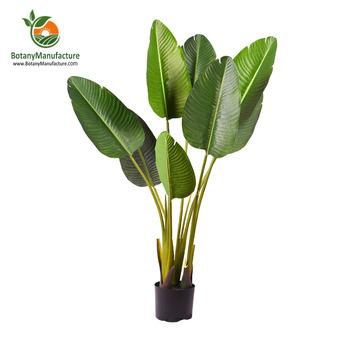 Artificial Bird Of Paradise Plant Decorative Mini Palm Trees Buy