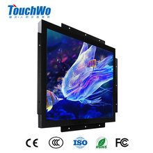 19 inch open frame lcd industrial touch screen monitor with USB
