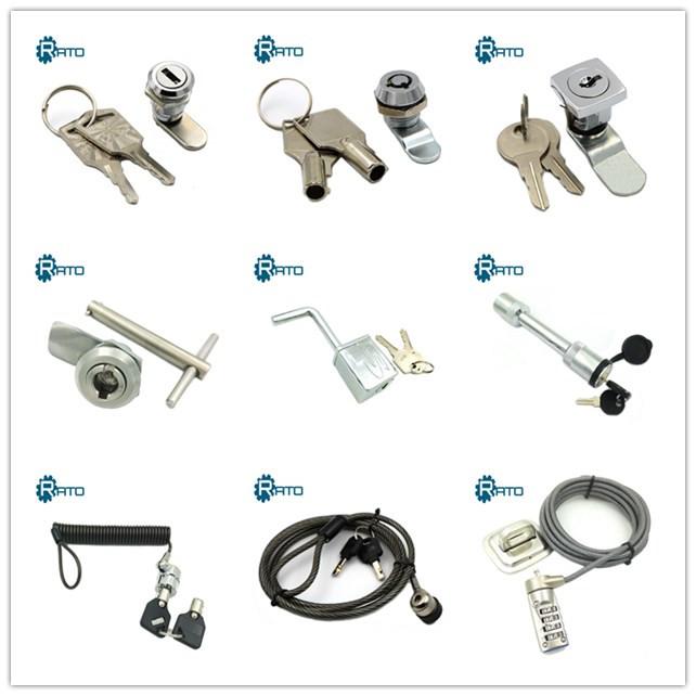 An der Wand befestigte Sicherheit 4-stellige Kombination Schlüssel verbergen Safe Lock Box Storage