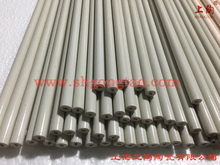 50% al2o3 tube with glazing