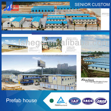 Fashion designed diaphanous prefab house kits