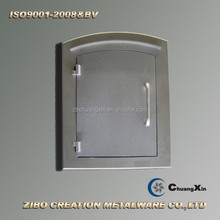 made in china mail box door/ die cast aluminium letter box