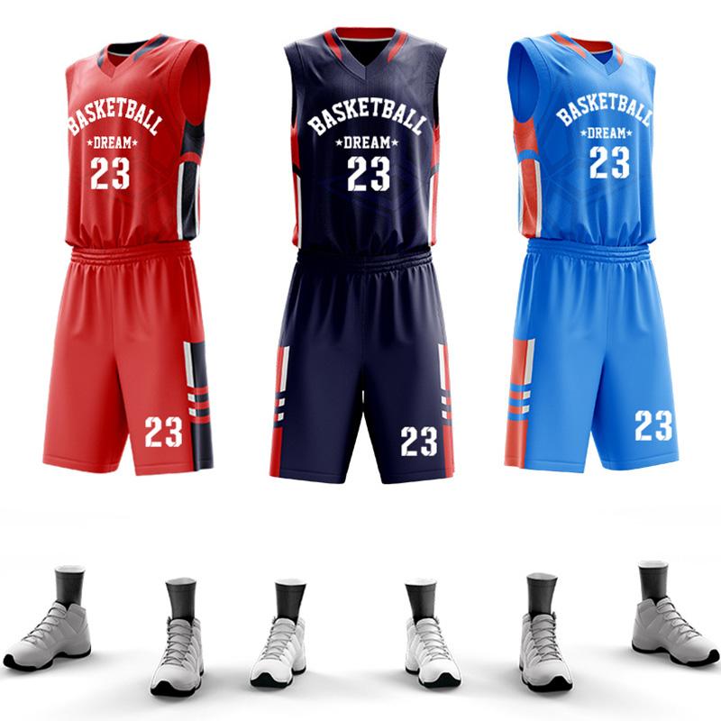2019 Youth Sublimation uniforms Custom Basketball Jersey Latest For School Basketball Wear Uniform Set фото