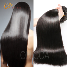 Onicca ไม่มี Tangle No Shed Dyeable 8A 10A 12A 100% Virgin Remy Mink บราซิลอินเดีย
