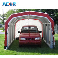 high quality inflatable hail proof car cover/outdoor inflatable garage tent/car tent garage