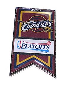 Cleveland Cavaliers Basketball Lapel Pin Banner Design 2016 NBA Playoffs