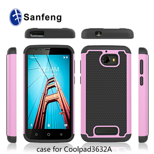 Phone Cover For CoolPad Defiant 3632A Ballistic Combo TPU Smart Phone Case  Cover
