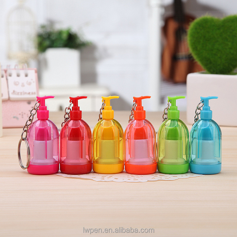 alibaba China supply stationery new arrivals Spray bottle design shape promotional plastic toy ball-point pen