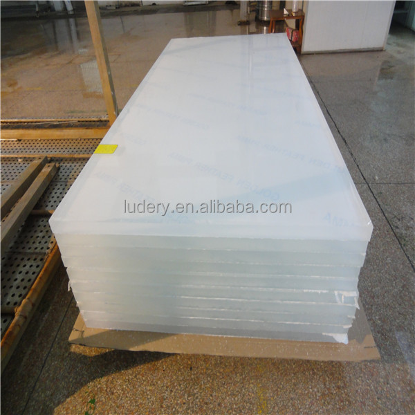 10mm frosted acrylic hdpe sheet/panel /board