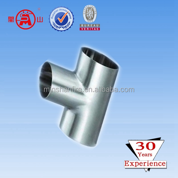 high pressure 45 degree y branch pipe fitting lateral tee