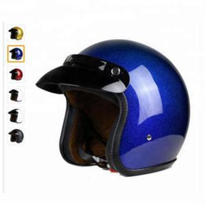 Wholesale custom logo many color motorcycle half face protective Helmet without lens