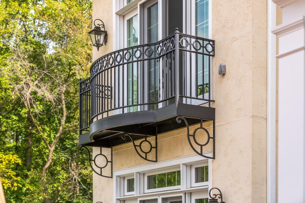 Edelstahl gel nder design mit rabatt preis sicher balkon for Terrace railings design philippines
