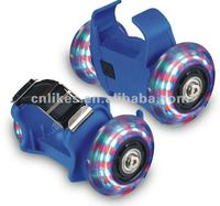 2015 new style flashing roller skate with led light