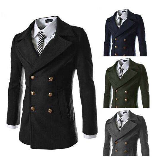 Long overcoats for men