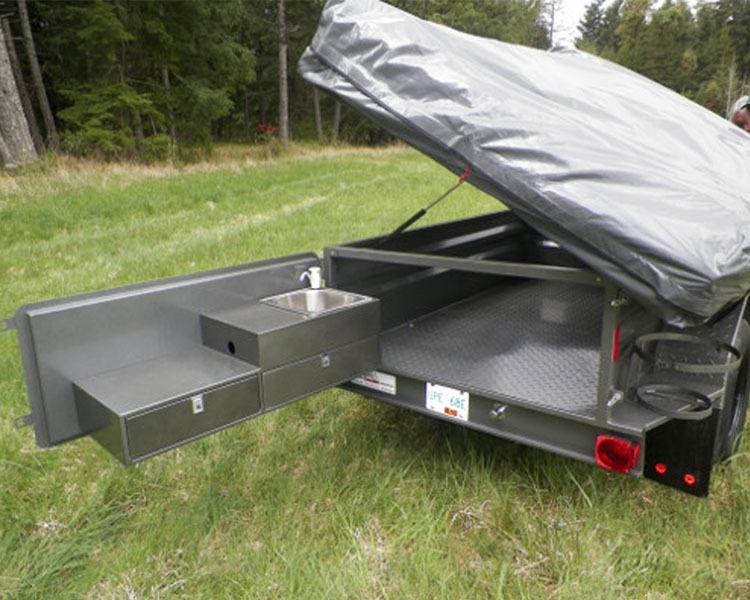 Utility Folding Travel Trailer Aluminum Siding Buy