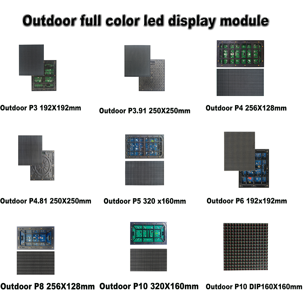 High quality and definition led commercial advertising display screen