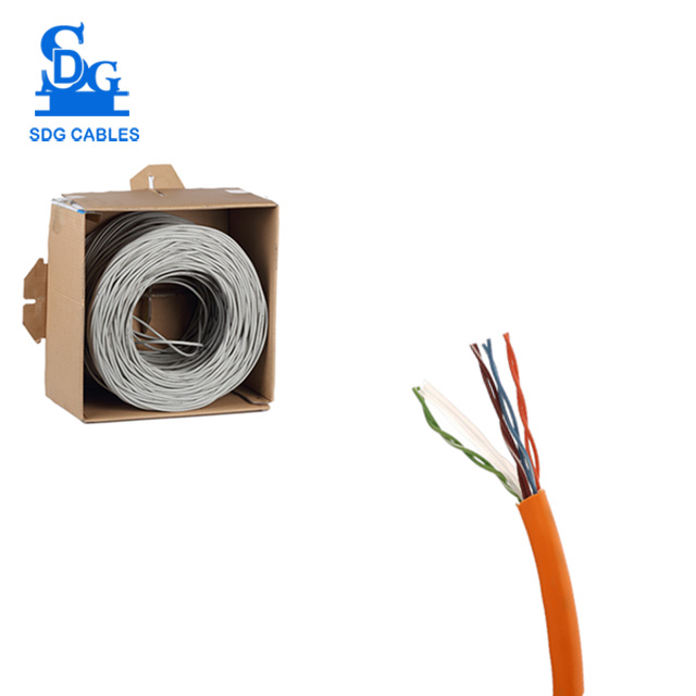 High Speed 23awg Networking Utp Cat6 Cable Manufacturer