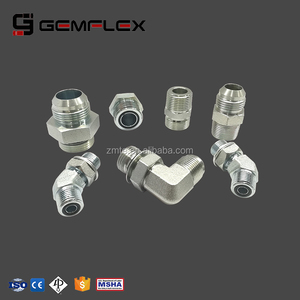 Male female NPT JIC Metric thread hydraulic adapter