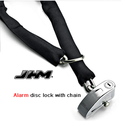 Chain alarm padlock, motorcycle disc anti-theft alarm lock