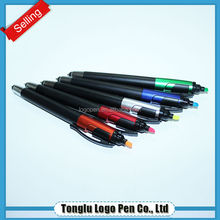 Office promotion item 3 in 1 highlighter pen with stylus