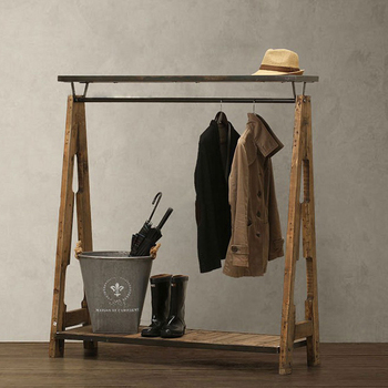 Brilliant Retor Iron From Solid Wood Coatrack Clothing Store Furniture Display Cloth Rack Cloth Hanger Stand Buy High Quality Coatrack On Sale Cloth Display Download Free Architecture Designs Rallybritishbridgeorg