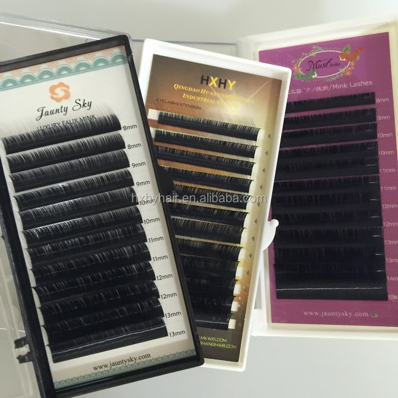 Hot sale beauty channel eyelash extensions, we looking for distributors,korea flare individual eyelash and lash extension