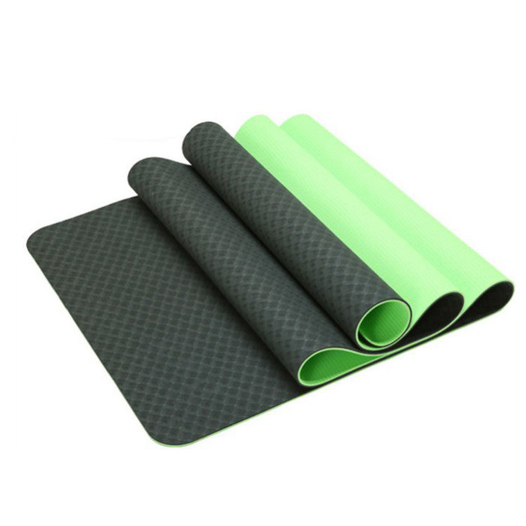 Customized Eco- friendly TPE Mat Yoga Mat Manufacturing
