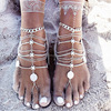2016 Fashion Hot Style Ankle Bracelet Wedding Barefoot Sandals Beach Foot Jewelry Crystal Anklet
