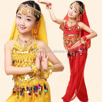 30fca3ee8eed Bestdance Kids Girls Belly Dance Performance Costume Outfit Wear ...