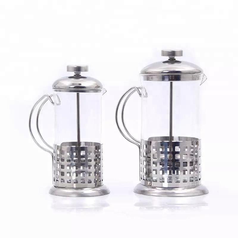 Stainless Pyrex French Press 350 Ml