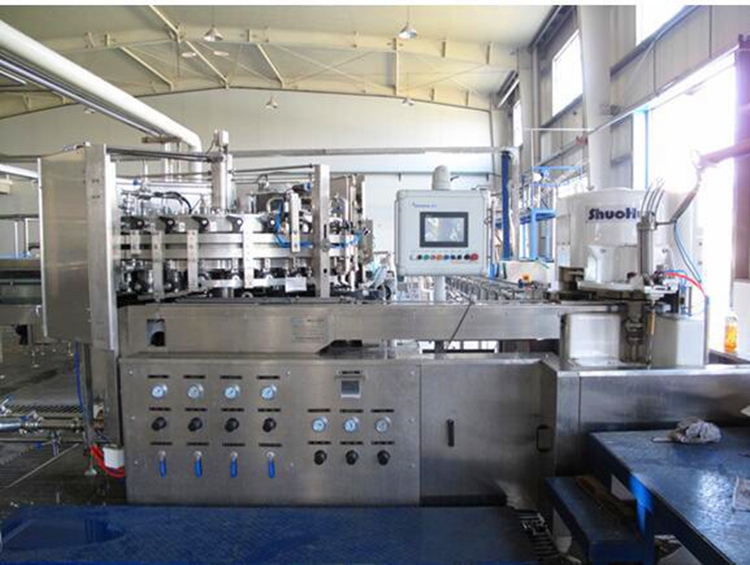 Detergent high viscosity liquid filling machine with small money