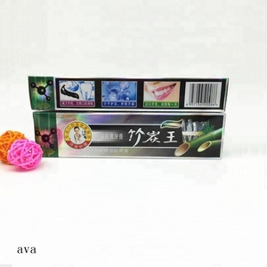 Recommend OEM Brand teeth whitening bamboo charcoal toothpaste