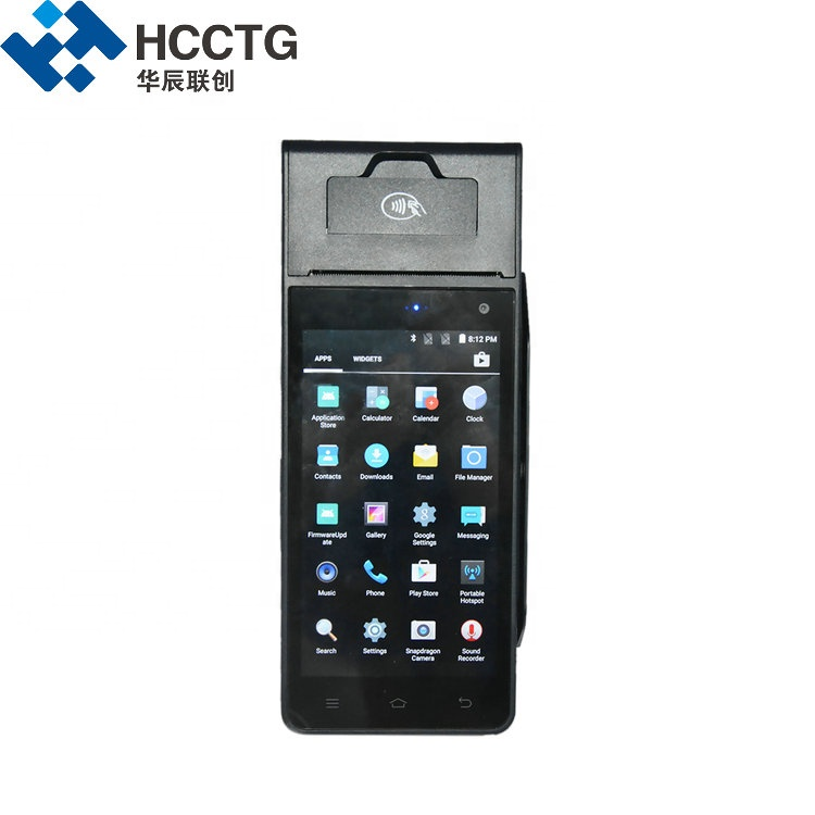 Smart Handheld Android Touch POS Terminal With Charging Base HCC-Z90