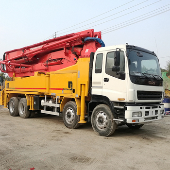 Fast Delivery Concrete Boom Placer Cement Pumping Machine Putzmeister Pump  Truck For Sale With Great Price - Buy Concrete Boom Placer,Cement Pumping