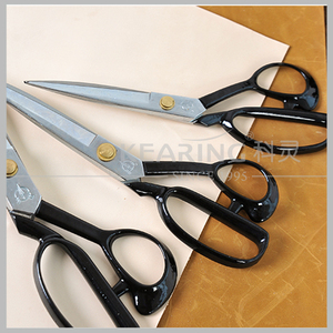"9"" high quality hardness Stainless steel sewing scissors for dressmaking cutting fabric #CC-9S"