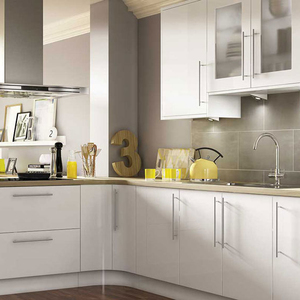 kitchen furniture pvc rta kitchen cabinet
