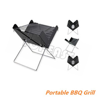 Folding BBQ Charcoal Garden Barbecue Portable Outdoor Grill