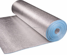 Aluminum foil EPE bubble heat insulation material / roll / sheet / thermal insulation for roof / wall / floor