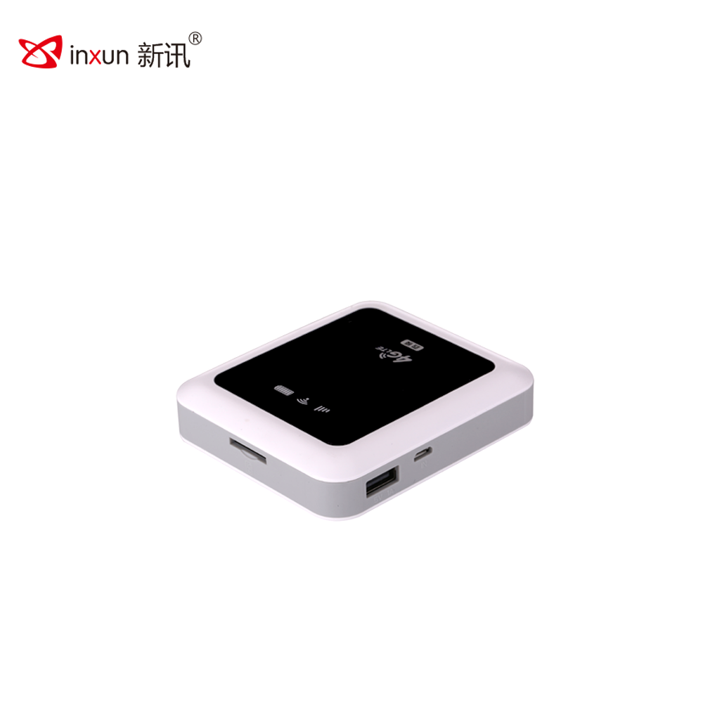 Portable mifis Wireless 4g Router with Sim Card Slot and Power Bank Function