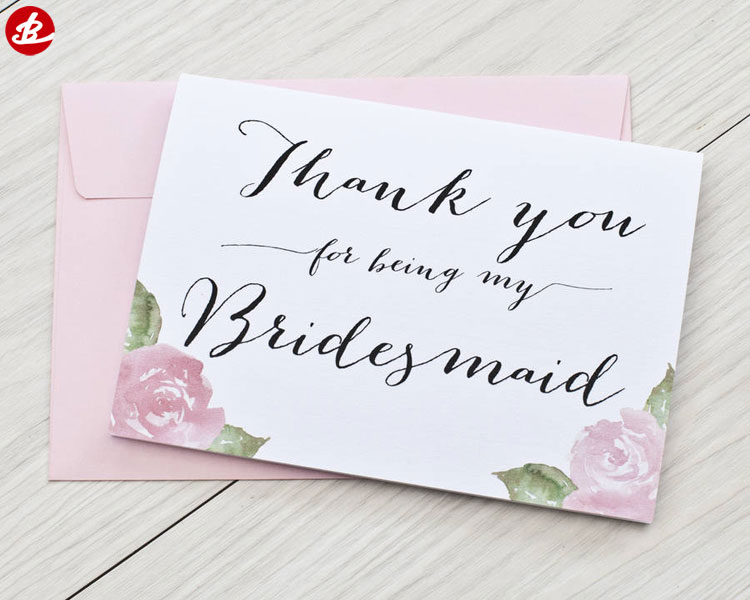 Wholesale High Quality Thank You Cards Pack Thank You Greeting Cards