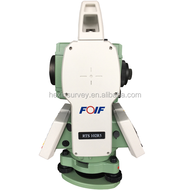 FOIF RTS102R5 types of total station memory 120000 points,support SD card total station survey instrument