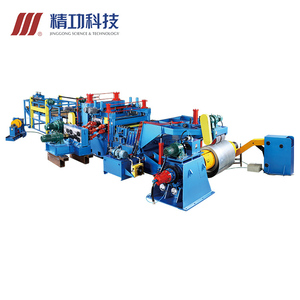 2019 efficient heavy duty cut to length line machine