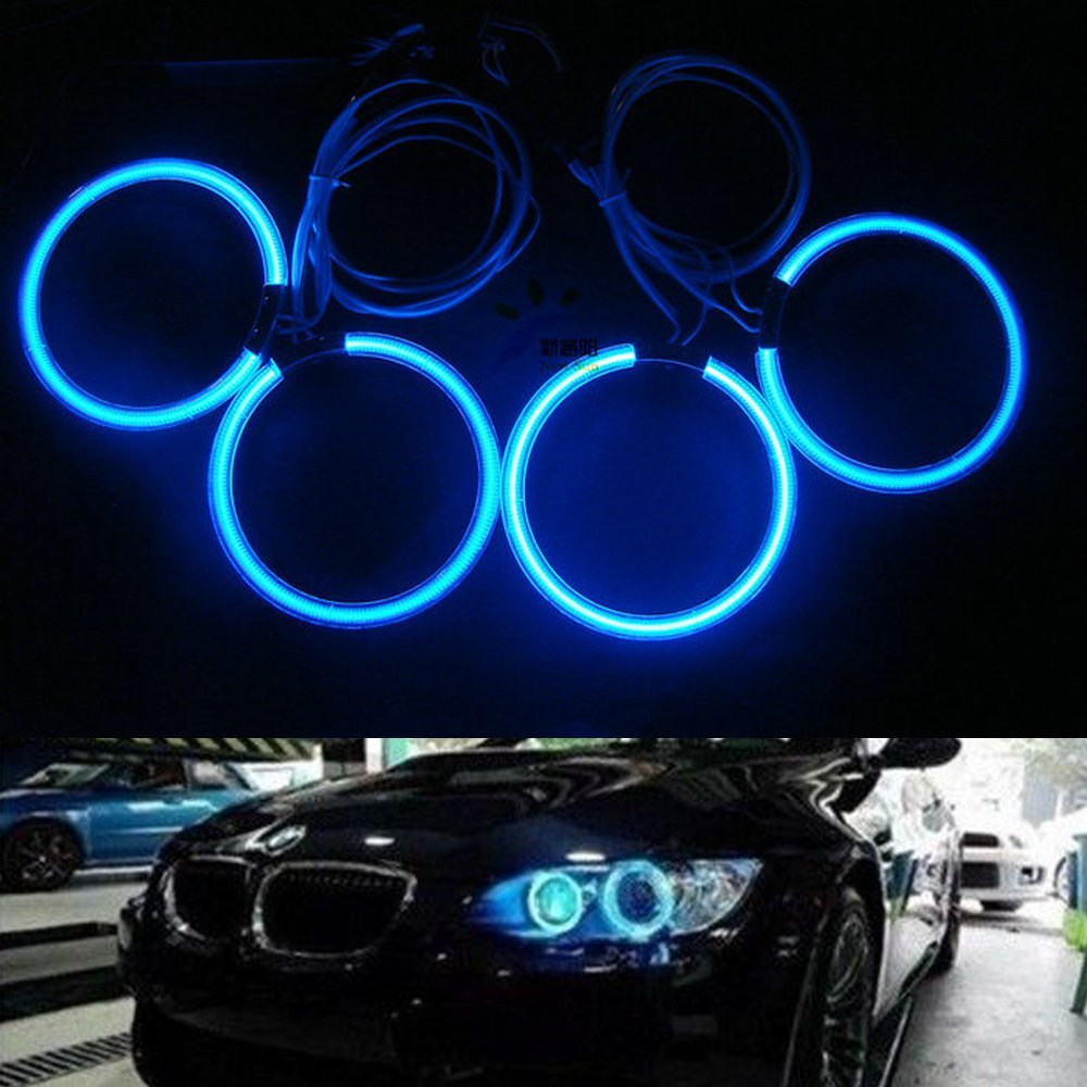 Cheap Bmw M6 Angel Eyes Find Deals On Line At Light Wiring Harness 2008 Get Quotations Nslumo 4x 120mm Ccfl Halo Ring For E34 E32 White Blue Red