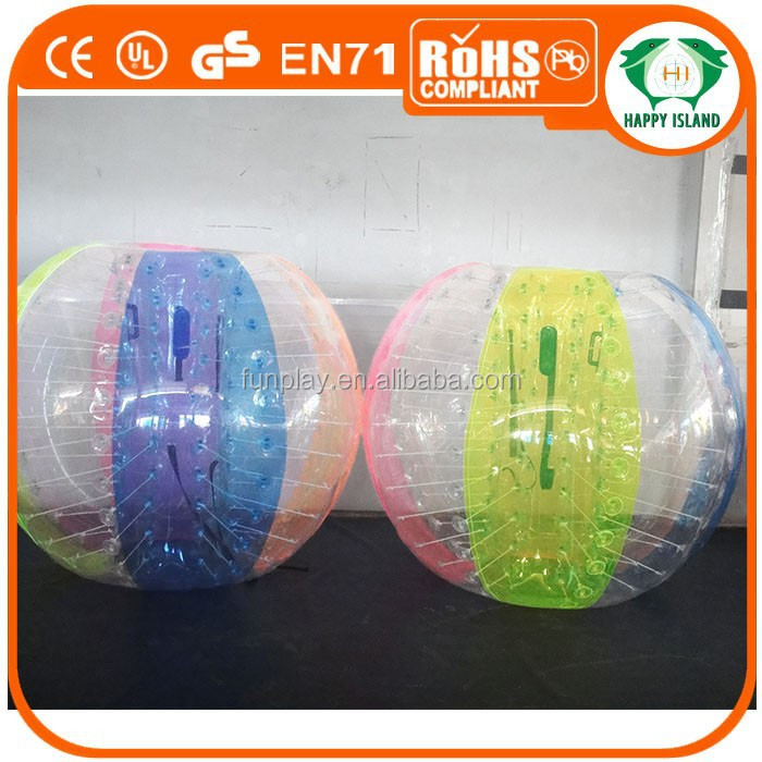 HI affordable 0.8mm/1.0mm PVC/TPU human inflatable ball,body zorb ball for sale,pvc giant inflatable soccer bal