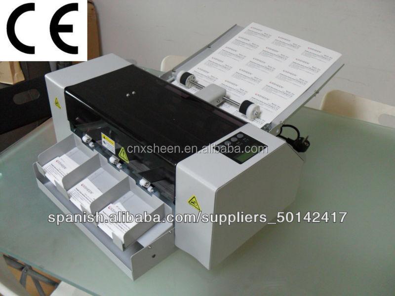 A3 Automatic Business Card Cutter Machine,Card Slitter Machine,Card ...
