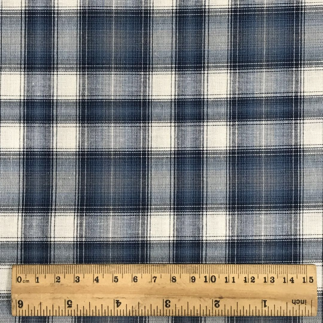 Hot sale wholesale  cotton check  plaid  yarn dyed  fabric for woman dress