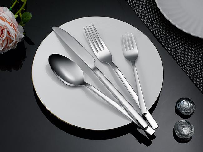 Nieuwe ontwerp hoge kwaliteit bestek zilverwerk set
