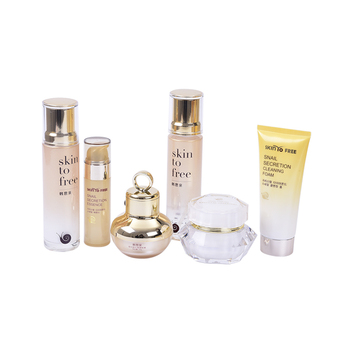 beauty anti-aging snail skin care set whitening,face serum cream  lotion multifunctional skin care
