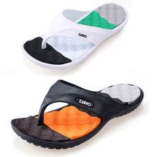 Hot Sale New 2015 Summer EVA Shoes Fashion Flip Flops Men Sandals,Male Flat,Massage Beach Slippers Black White,Plus Size 41 – 45