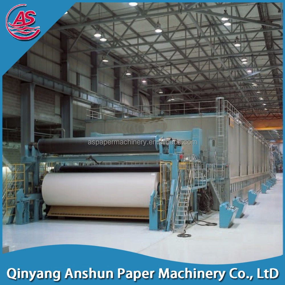 Recycled newspaper printing paper making machines price